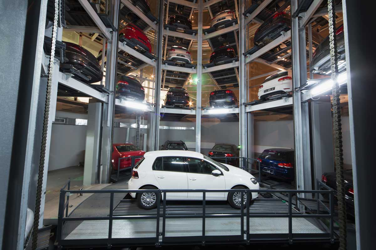 Building Car Park System